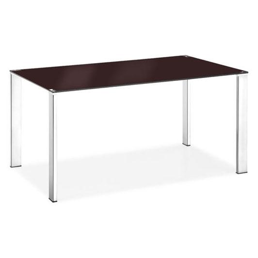Kantors Home Furniture MODERN Dining Slim Dining Table Espresso