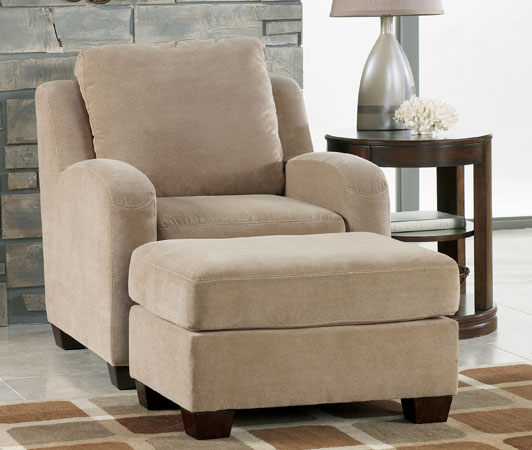 Circa taupe chair for Ashley circa taupe sofa chaise