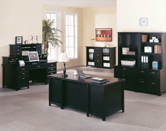 Black Home Office Furniture Collections Innovation