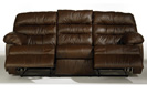 Reno - Brown Reclining Sofa