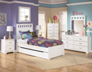 Lulu Twin Panel Trundle Storage Bed-Dresser-Mirror-Night Std