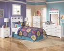 Lulu Twin Panel Bed-Dresser-Mirror-Night Std