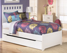 Lulu Twin Panel Trundle Storage Bed