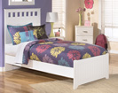 Lulu Panel Bed with footboard