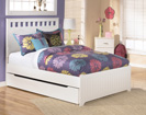 Lulu Full Panel Trundle Storage Bed