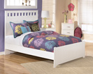 Lulu Full Panel Bed with footboard