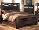 X-cess -  King Panel Bed