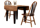 Urbandale Drop Leaf Dining Table w/2 side chair